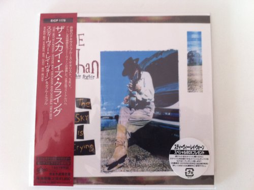Sky Is Crying [Japanese papersleeve CD EICP 1178] by Stevie Ray Vaughan