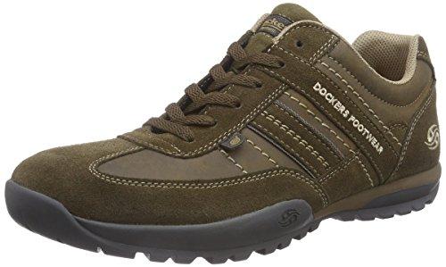 Dockers by Gerli 36HT001, Low-Top Sneaker uomo, multicolore (stone 420), taglia 43