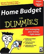 Home Budget For Dummies (Software and Reference Book; PC CD-ROM), by Atari