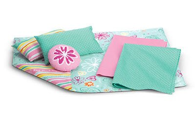 American Girl Bedding Set - Fits 18In Dolls [6 Pieces Total]