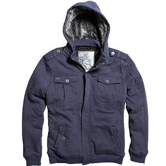 Fox 2013/14 Men's Influx Sasquatch Zip Front Fleece Hoody - 06506 (Heather Navy - XXL)