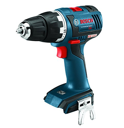 Bosch DDS182B Bare-Tool 18V Brushless Compact Tough Drill/Driver, 1/2