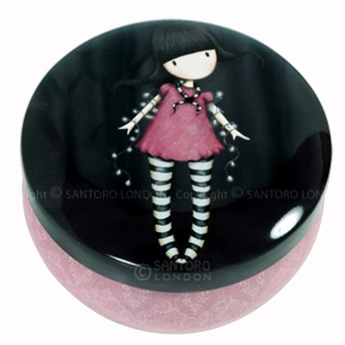 Gorjuss Trinket Tin Fairy Lights