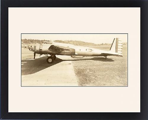 Framed Artwork of Boeing B-17C Flying Fortress