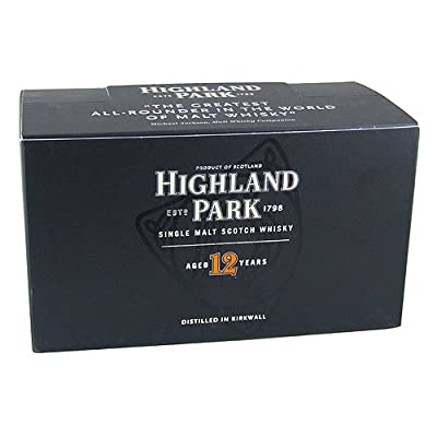 Highland Park 12 year old Single Malt Whisky 5cl Miniature - 12 Pack from Highland Park