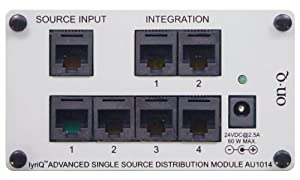 OnQ / Legrand AU1014 lyriQ Advanced Single Source Distribution Module (Bracket included)