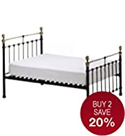 Castello Black Frame Bedstead