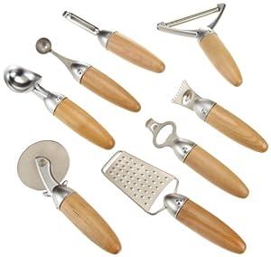 Kitchen art 8 piece apex tool set kitchen for Lagostina kitchen tool set 8 pc