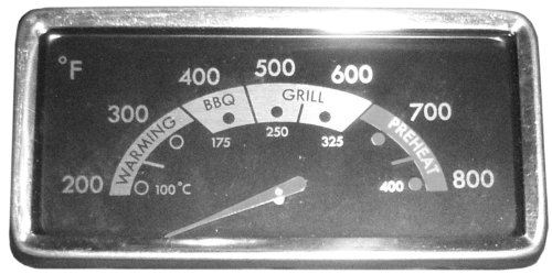Music City Metals 00021 Heat Indicator Replacement for Select Kenmore Gas Grill Models