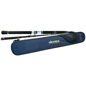Okuma's Nomad Inshore Saltwater Multi Action Travel Rods-NTi-S-703ML-M (Blue/Black, 7-Feet) from Okuma