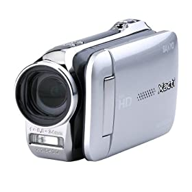 Sanyo VPC-GH2 High Definition Camcorder and 14 MP Camera w/12x Optical Zoom