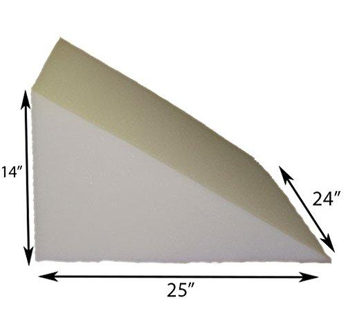 Acid Reflux Foam Bed Wedge Pillow Support Comfort (24