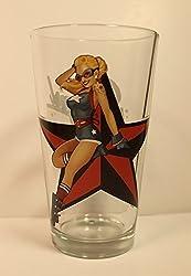 Stargirl DC Bombshell Series 'Toon Tumbler 16 Oz. Pint Glass