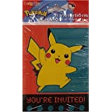Pokemon Pikachu Party Invitation Pack