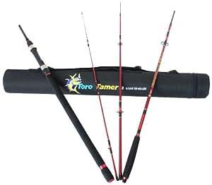 Amazon.com : Surf Explorer 15-20C Toro Tamer Surf Fishing Rods, Red