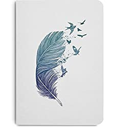 DailyObjects Feather Flock A5 Notebook Plain