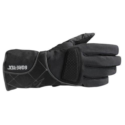 Alpinestars Stella WR-V Gore-Tex Womens Gloves , Size: XS, Gender: Womens, Distinct Name: Black, Primary Color: Black, Apparel Material: Textile 3534511-10-XS