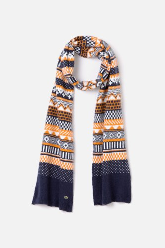 L!VE Mens Fair Isle Scarf