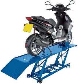 Draper 37058 360 kg Hydraulic Motorcycle Lift