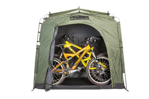 Exterior Covered Bike Storage : Outdoor bike storage shed backyard bicycle tent garden
