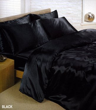 black silk bed sheets tKf9Webn
