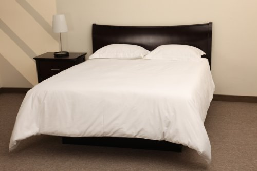 Rio Home Fashions 250 Thread Count 100-Percent Cotton 2-Piece Duvet Mini Sets, White