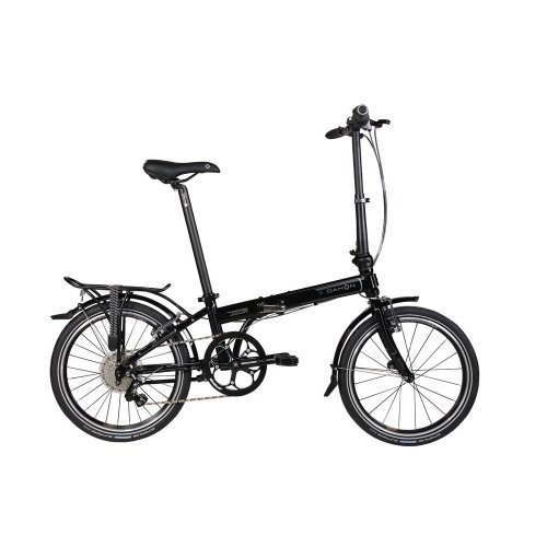Dahon Speed P8 Folding Bike, Obsidian
