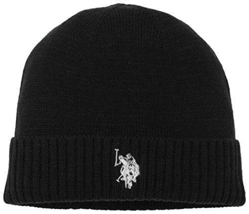 U.S.POLO ASSN. Uspa Plain Hat, Cappello Uomo, Nero, Taglia Unica