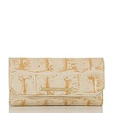 Soft Checkbook Wallet<br>Champagne Orinoco