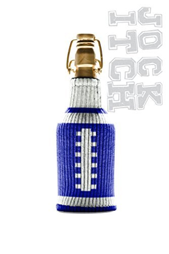 The Jock Itch Collection by Freaker USA Blue and White Game Day Tailgating Bottle Insulator - 1