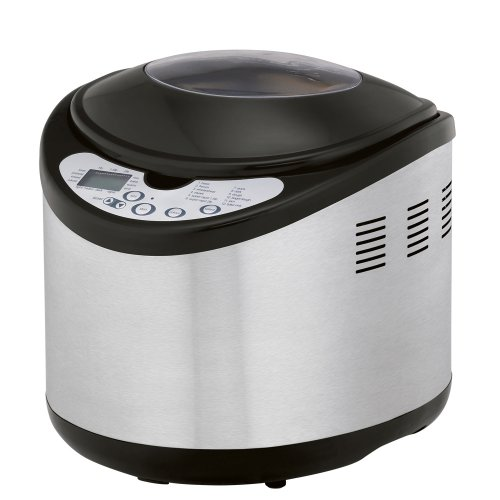 West Bend 41200 Programmable Bread Machine, Stainless (West Bend 2 Pound Bread Maker compare prices)