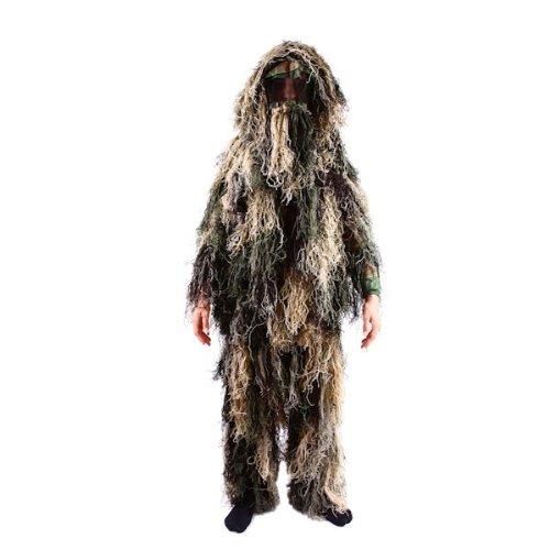Kids Ghillie Suit Woodland Camo