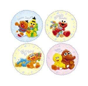 sesame street beginnings baby shower wall decorations