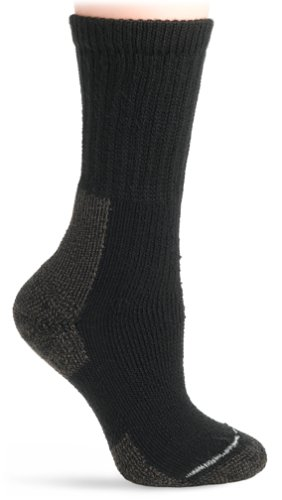 Thorlo Women's Thick Cushion Thorlon Hiking Sock,Black,Medium (Extra Thick Womens Socks compare prices)