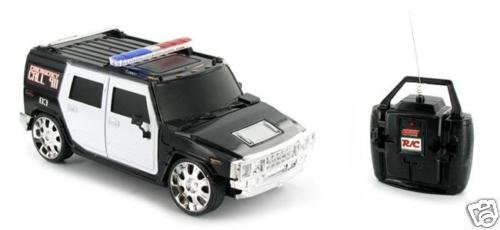 Radio Control Hummer H2 Police Truck