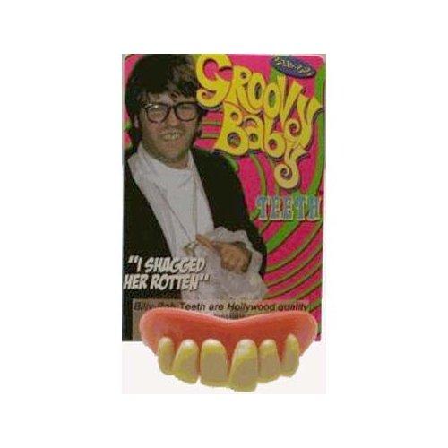 Billy Bob Fake Teeth Groovy Baby Novelty front-406421