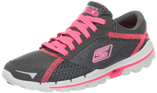 Skechers Performance Women's Go Run 2 Running Shoes Gray Gris (Cchp) 2.5 (35 EU)