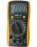 VICTOR VC89B 3 1/2 Multimètre numérique Auto Gamme voltmètre ampèremètre ohmmètre Testeur Mesureur électrique de grand écran LCD