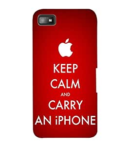 ColourCraft Quote Design Back Case Cover for BLACKBERRY Z10