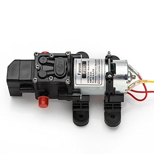[Update]Favson Diaphragm Pump DC 12V Fresh Water Pump 4.0 L/min 100 PSI Self Priming Pressure Pump (Rv Camper Water Pump compare prices)