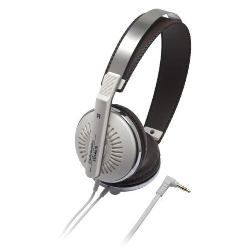 ヘッドホン おしゃれ audio-technica ATH-RE70 whiteをおすすめ