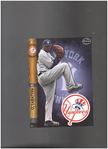 New York Yankees Mini Felt Pennant & CC Sabathia Mini Fathead 2014