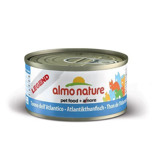Almo Nature - Produit Naturel - Boite Legend chat POISSON 70g - Almo Nature (Thon Atlantique 6 x 70g)
