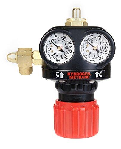 Victor 0781-5138 ESS4 Heavy Capacity EDGE Series Hydrogen/Methane Regulator (Hydrogen Pressure Gauge compare prices)