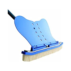 The wall whale classic swimming pool brush - Wall whale xl 20 swimming pool wall brush ...