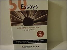 Essays: A Portable Anthology book by Samuel Cohen | 6 - Alibris