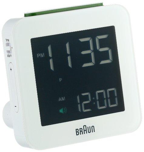 Braun BNC009WH-RC Digital Quartz Alarm Clock (Braun Digital Alarm Clock Radio compare prices)