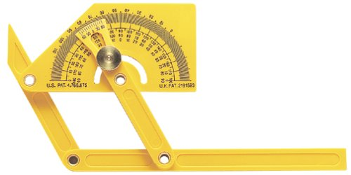 General Tools & Instruments 29 Plastic Protractor And Angle Finder With Articulating Arms