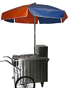 Worksman Personal-Party Style Hot Dog Cart