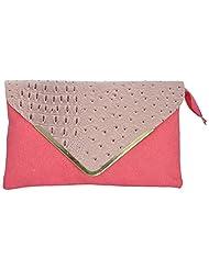 Bhawna Enterprises Leather Adjustable Strap Women's Handbag (BE_SMPI36, Pink)